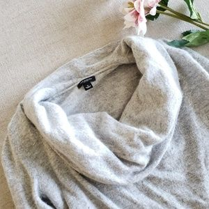 Ann Taylor cowl neck knit wool cashmere blend